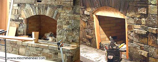 Chimeneas rusticas le a casa dise o fotos electricas - Diseno de chimeneas rusticas ...